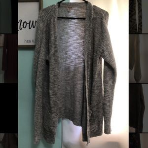 Mossimo cardigan. Size XXL. Grey heathered color